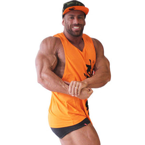 "Brachial Tank Top ""Heat"" Orange"