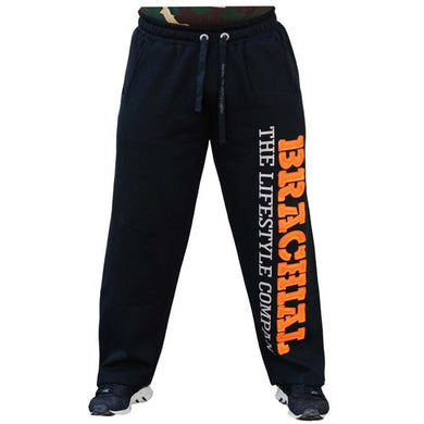 Brachial Tracksuit Trousers Gym black/orange