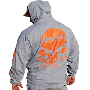 "Brachial Hoody ""Shatter"" Light grey"