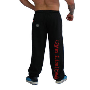"Brachial Tracksuit Trousers ""Gym"" Black/red"