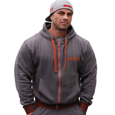 Brachial Zip-Hoody Spacy anthracite