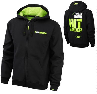 MusclePharm Train hard huppari