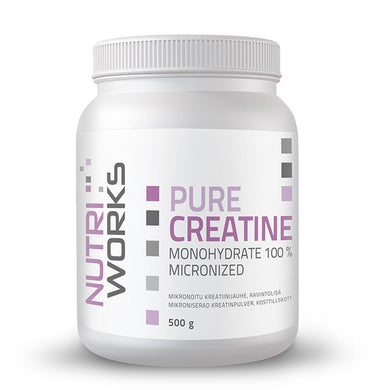 PURE CREATINE Monohydrate 100 %