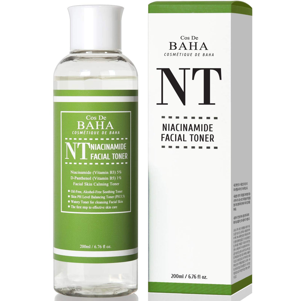 Niacinamide 5 Toner 200ml W Panthenol 1 Korean Skin Care For