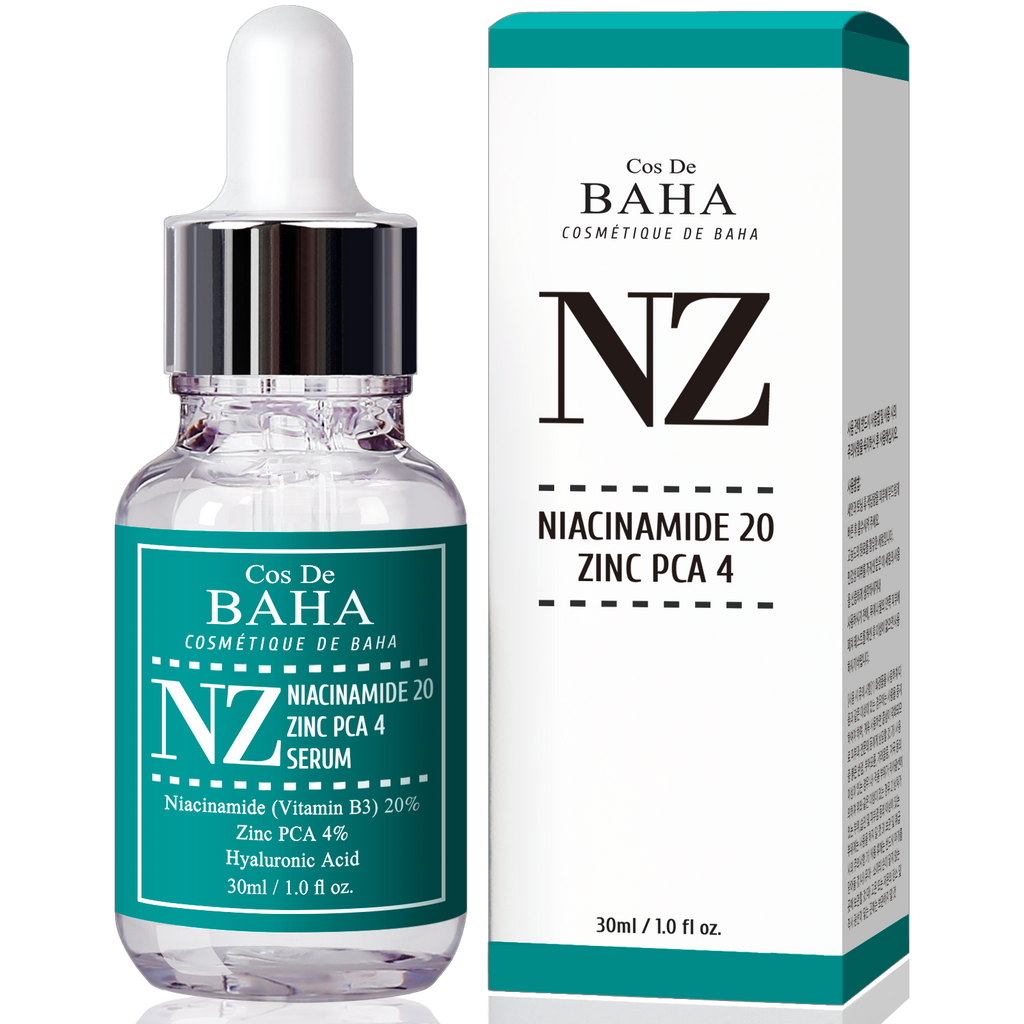 Niacinamide 20% + Zinc 4% Serum for Face - Pore Reducer + Uneven Skin Tone Treatment + Diminishes Acne Prone, Korean Skin Care, 1fl oz (30ml)