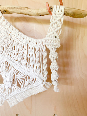 AVERY | Natural Branch Bohemian Macramé Wall Hanging