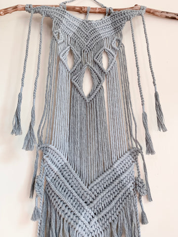 HARLOW | Natural Branch Macramé Wall Hanging