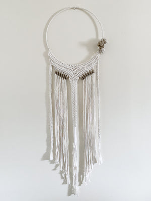 SAVANNA | Macramé Dreamcatcher