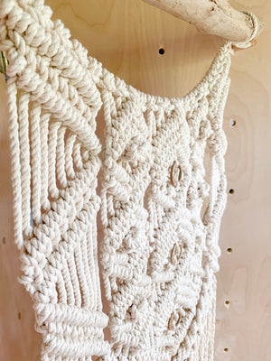 WREN | Natural Rope Macramé Wall Hanging