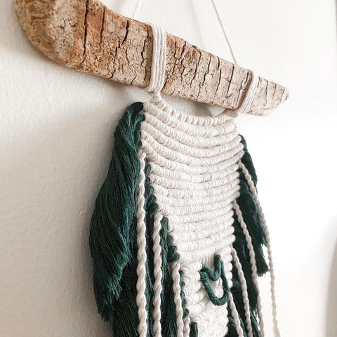 ASTER | Bohemian Tribal Macrame Wall Hanging