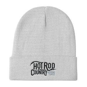 Hot Rod Country Knit Beanie