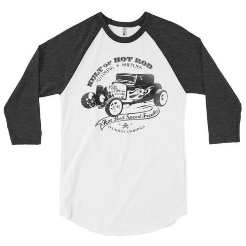 KULT OF HOT ROD SPEED FREAKS 3/4 sleeve raglan shirt