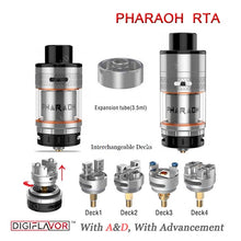 Digiflavor Pharaoh RTA by Rip Trippers Tank