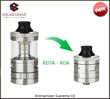 Steam Crave Aromamizer Supreme V2.1 RDA/RDTA dripping tank