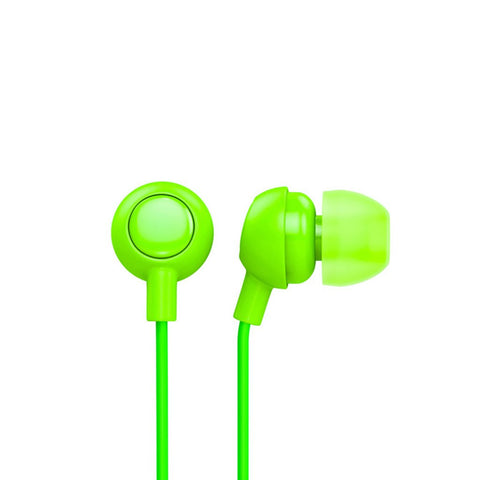 Neon Green earbuds