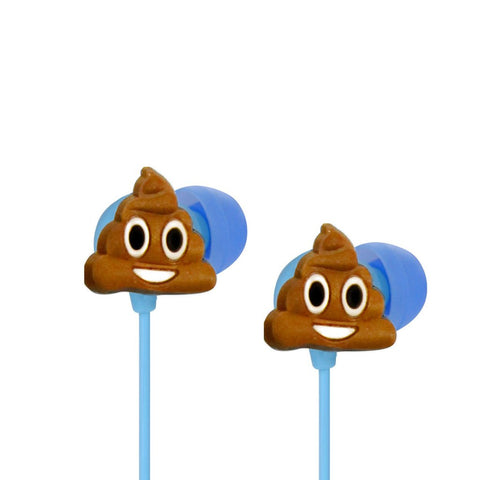 Poop Emoji Noise Isolating Earbuds