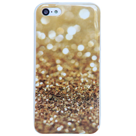 Gold Glitter iPhone 5/5S Case
