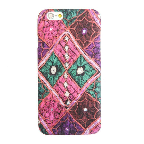 Multicolor Indian Fabric Boho Indian iPhone 6S/ 6 case