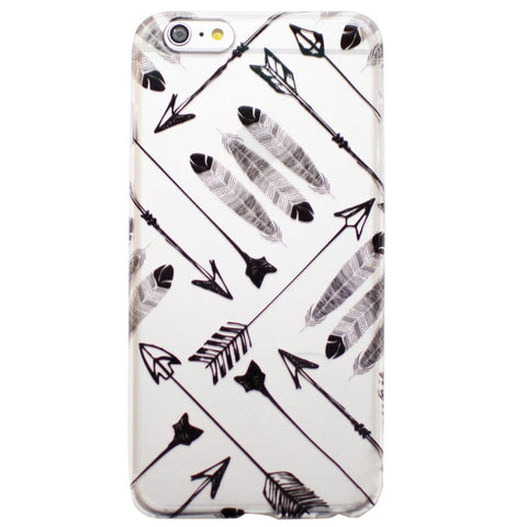 Arrow & Feathers iPhone 6 Plus Case