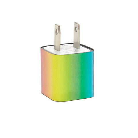 Rainbow Hologram Wall Charger