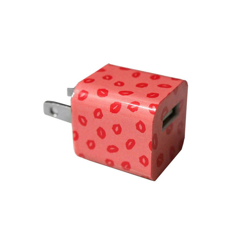 Red Lips USB Wall Charger