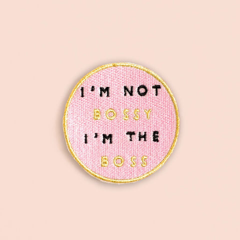 Ankit Pink Glitter Wish you weren't Here DIY Patches