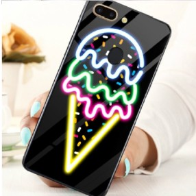 ANKIT Tempered Glass Ice Cream iPhone XR Case