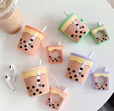 ANKIT Bubble Tea Airpods Case