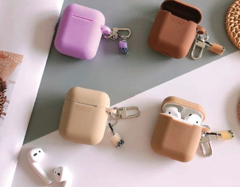 ANKIT Airpods Case with Bubble Tea Keychain
