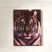 Run Bitch Wall Canvas
