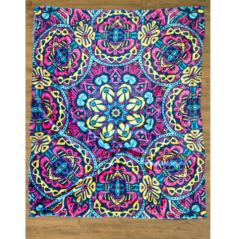 Mandala Luxury Decorative Throw Blanket