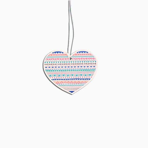 Aztec Heart Car Air Freshener