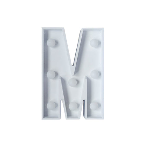 M Initial Marquee Light