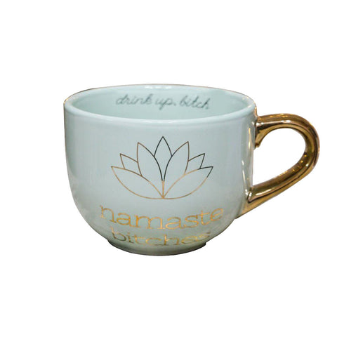 Namaste Bitches Coffee Mug
