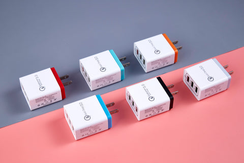 ANKIT 3 Port Smart USB Wall Charger