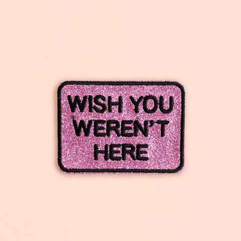 Ankit Pink I'm not Bossy DIY Patches