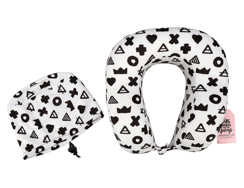 Triangle Ergonomic Travel Pillow
