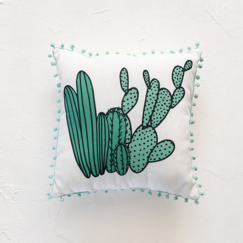Heart Eyes Emoji Throw Pillow