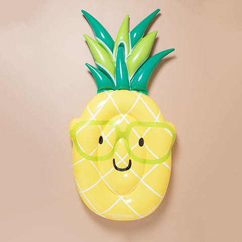 Emoji Pineapple Yellow Pool Float