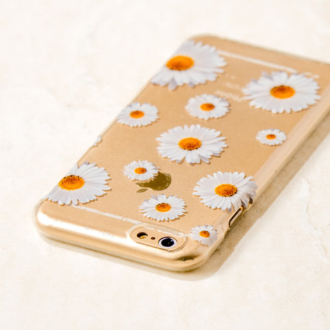 Clear Daisy iPhone 6 Case