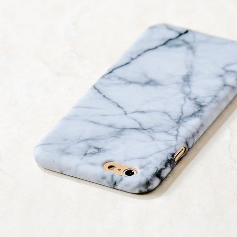 White Marble pattern iPhone 6S/ 6 case