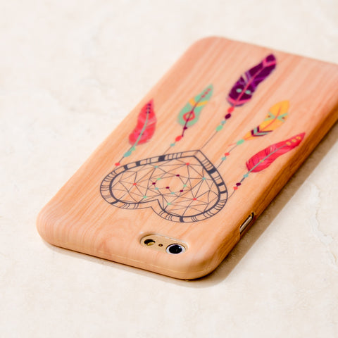 Wooden Dreamcatcher Tribal Boho iPhone 6S/ 6 case