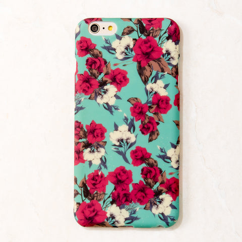 Multicolor floral rose flower iPhone 6S/ 6 case