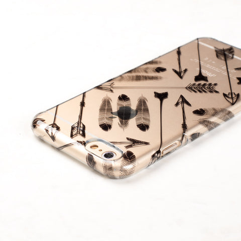 Clear Arrow Tribal Boho iPhone 6 Plus case