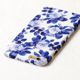 Blue Watercolor Floral flower iPhone 6 Plus case