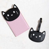 Ankit Kitty Luggage Tag & Passport Set