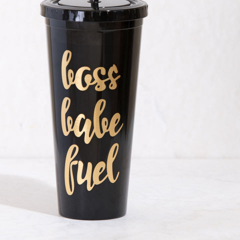 Bass Babe Fuel Black Tumbler