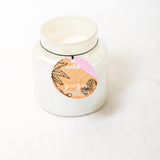Bora Bora Pearl finish Jar Scented Candle