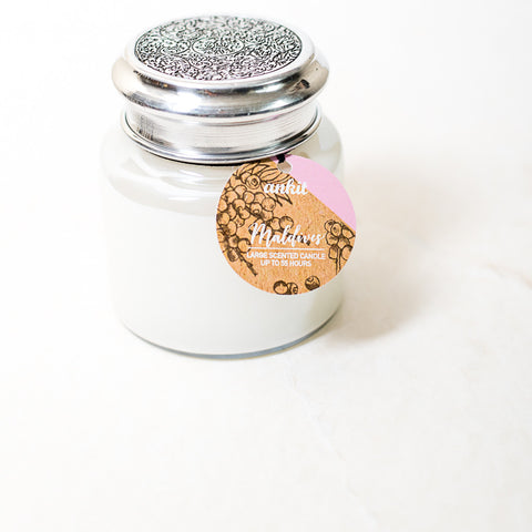 Maldives Pearl finish Jar Scented Candle
