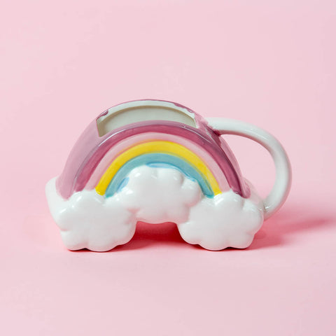 Molded Rainbow Mug 16 Oz
